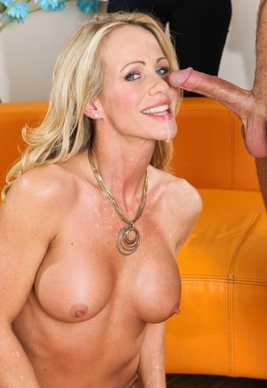 Busty Cum in Mouth Porn
