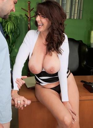 Busty Secretary Porn