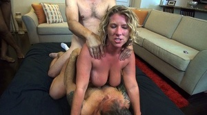 Big titted amateur May Waters gets gangbanged by strangers