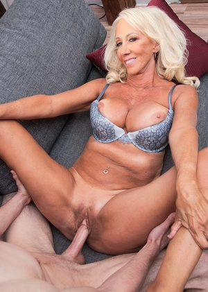 Magnificent grandmother Madison Milstar seduces her daughter's husband