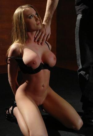 Busty slut Madison Scott gets fiercely fucked by her master James Deen