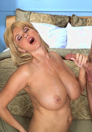 Big boobed superstar Penny Porsche takes care of her man's cock with a blowjob