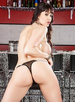Clothed milf stunner with big tits and tight ass Eva Karera masturbating