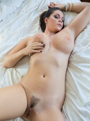 American pornstar Alison Tyler with huge tits waits for French fucker